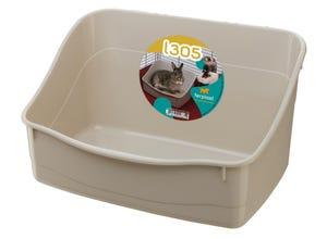 Bac à litière L305 pour lapins