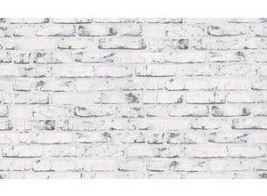 Expansé sur intissé briques blanc/gris