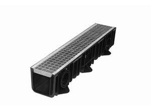 Ensemble caniveau DRAINYL standard 150+grille caillebotis