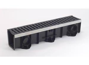 Ensemble caniveau DRAINYL PRO 150 + 2 grilles fonte C250
