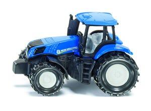 Tracteur NEW HOLLAND bleu modèle réduit