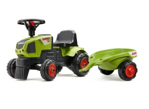Porteur tracteur baby claas AXOS310 avec remorque