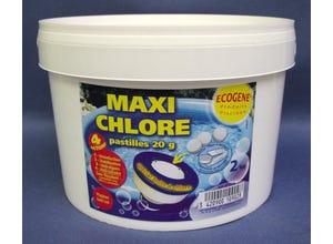 Maxi chlore pastilles 20g - 4 actions - 2kg
