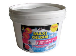 Maxi chlore galets 250g - 5 actions - 2kg