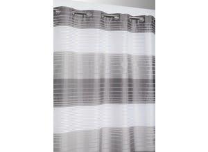 Voilage rayures opaques et transparent CIKO