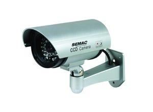 Caméra factice int./ext. avec infrarouge et voyant LED