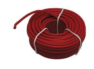 Câble électrique 1 mm² 12/10 rouge - 10 m
