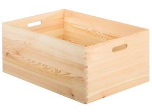 Caisse en bois empilable 23x60x40 cm