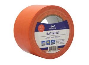 Toile adhésive orange
