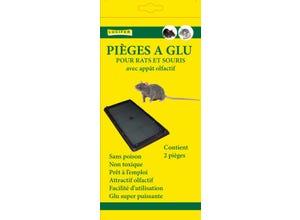 2 pièges à glu - rats et souris LUCIFER