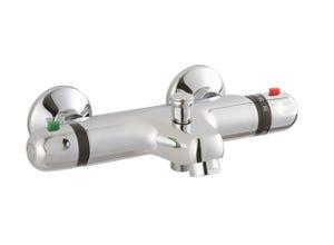 Mitigeur chrome thermosur 200 bain douche thermostatique