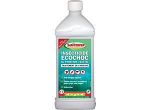 Insecticide Ecochoc au pyrèthre végétal concentré 1L