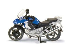 Moto BMW R1200 GS bleue modèle réduit