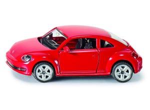 VW THE BEETLE rouge modèle réduit