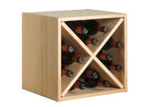 Casier pour ranger 12 bouteilles