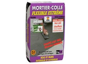 Mortier colle flexible extrême gris PRB