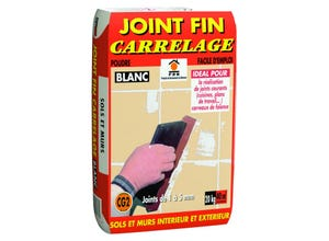 Joint fin carrelage blanc  PRB