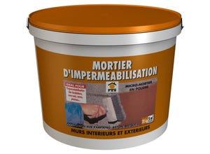Mortier d'impérméabilisation fondations 20kg