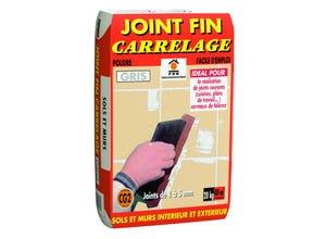 Joint fin carrelage gris PRB