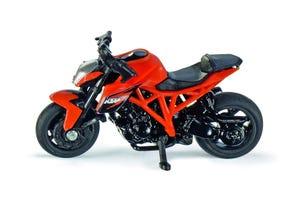 Moto KTM 1290 Super Duke R orange modèle réduit