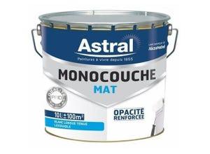 Peinture monocouche mat Blanc Base White 10L