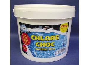 Chlore pastille 20g - 5kg