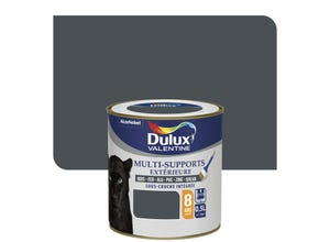 Peinture multi-supports ext satin gris sombre