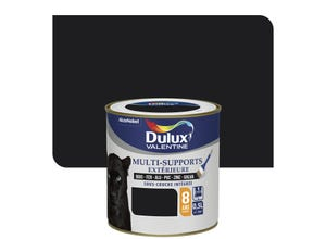 Peinture multi-supports ext satin Noir