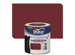 Peinture multi-supports ext satin rouge Basque