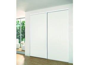 Pack SLALOM 2 vantaux 2500X1800mm - blanc nacré