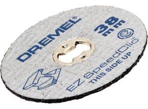 5 disques ez speed-clic Ø38mm ép 1.2 mm / métaux
