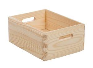 Caisse en bois empilable 9x15x20 cm