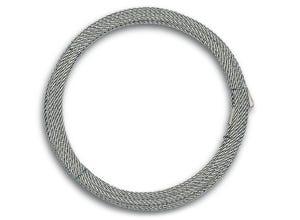 Câble non gainé âme textile Ø3mm L.20m