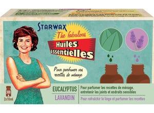 Coffret de 2 huiles essentielles lavande/eucalyptus Fabulous