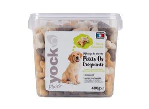 Plaisir Mix Os Croquants pour chien 400 g