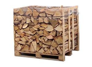 Bois de chauffage - Box 1m3 - bûches de 30 cm