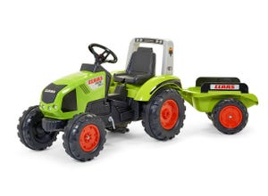 Tractopelle claas 1011D avec roues bandage anti-bruit
