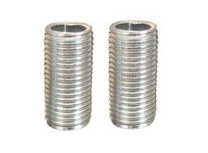 2 tubulures acier 10 x 1 Ø10 mm L.20 mm