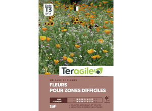 Mélange de fleurs pour zones difficiles