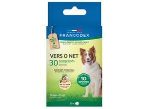 Vers 0 net comprimés - chiot et chien