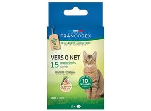 Vers 0 net comprimés - chaton et chat