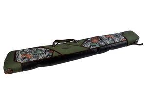 Etui fusil Camo feuillage matelassage alvéolé long 125 cm