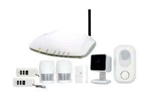 Kit alarme, protection et surveillance