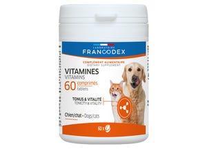 Vitamines - chien & chat - 60 comprimés