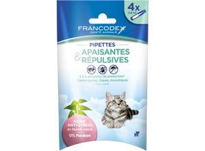 Pipettes anti-stress & répulsives pour chaton x4