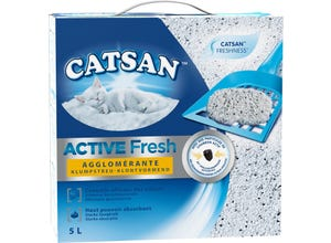 Active Fresh litière minérale pour chat 5L