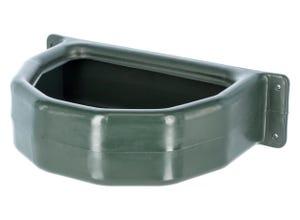Mangeoire plastique demi-ronde 25 litres