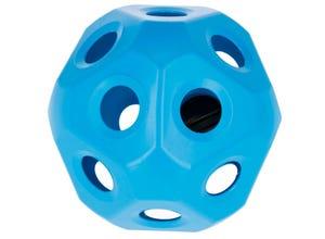 Balle à foin bleu