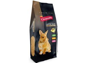 """Mélange complet lapin nain """"premium"""" - Sac de 3 kg"""