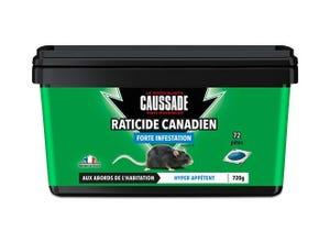Raticide Canadien forte infestation 720 g